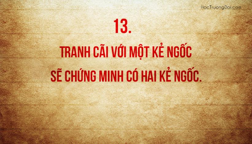 những câu nói sâu sắc cần nhắc nhở bản thân mỗi ngày13